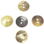 Qepje Button, Predhë, Monedhë, 12.5-13x12.5-13x1-1.5mm, : 1.5mm, 1000PC/Qese,  Qese