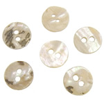Qepje Button, Predhë, Monedhë, 10x10x1-2mm, : 1.5mm, 500PC/Qese,  Qese
