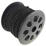 Cord Lesh, Kurrizit Lesh, e zezë, 3x1.50mm, :100Oborr,  PC