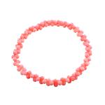Byzylyk Coral, Coral sintetike, sintetik, rozë, 6x3x3mm, :6Inç, 10Fillesat/Qese,  Qese