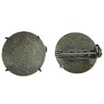 Gjetjet karficë tunxh, Round Flat, Ngjyra antike bronz i praruar, asnjë, , nikel çojë \x26amp; kadmium falas, 21.50x21.50mm, : 21.5mm, 200PC/Qese,  Qese