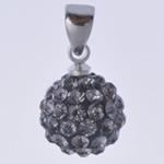 Varëse diamant i rremë, Round, me diamant i rremë, Greige, 10x19mm, : 3x5mm, 10Çanta/Qese,  Qese