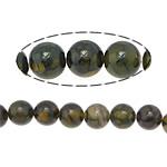 Veins Natyrore Dragon agat Beads, Agat Dragon venë, Round, 12mm, : 1.2mm, : 15.5Inç, 5Fillesat/Shumë,  Shumë