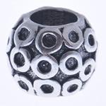 Beads European aliazh zink, Alloy zink, Daulle, pa karrem, , nikel çojë \x26amp; kadmium falas, 10x9mm, : 5mm, 10PC/Qese,  Qese