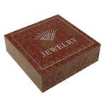 Byzylyk karton Box, Katror, 81x81x28mm, 20PC/Shumë,  Shumë