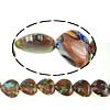 Beads Goldstone, Zemra Flat, 20x20mm, : 2mm, : 14.5Inç, 5Fillesat/Shumë,  Shumë