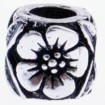 Beads European aliazh zink, Alloy zink, Daulle, pa karrem, , nikel çojë \x26amp; kadmium falas, 9x8.50mm, : 4.5mm, 10PC/Qese,  Qese