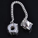 Tunxh European Clip, Rondelle, asnjë, , nikel çojë \x26amp; kadmium falas, 78x10x6mm, : 3mm, 10PC/Qese,  Qese