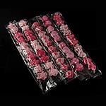 Fëmijët Accessory e flokeve, Hekur, Lule, ngjyra të përziera, 44-50mm, 3Sets/Shumë,  Shumë