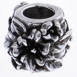 Beads European aliazh zink, Alloy zink, Daulle, pa karrem, , nikel çojë \x26amp; kadmium falas, 12x10mm, : 5mm, 10PC/Qese,  Qese
