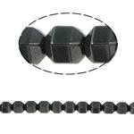 Non-Beads magnetik kuqe e mbylltë, Jo-magnetike kuqe e mbylltë, Kolonë, e zezë, Një, 6x6mm, : 2mm, :15.5Inç, 10Fillesat/Shumë,  Shumë
