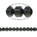 Non-Beads magnetik kuqe e mbylltë, Jo-magnetike kuqe e mbylltë, Kolonë, e zezë, Një, 6x6mm, : 1.5mm, :15.5Inç, 10Fillesat/Shumë,  Shumë