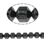 Beads magnetik kuqe e mbylltë, Kolonë, e zezë, Një, 10x10mm, : 2mm, :15.5Inç, 10Fillesat/Shumë,  Shumë