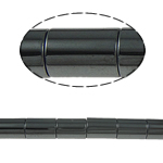 Non-Beads magnetik kuqe e mbylltë, Jo-magnetike kuqe e mbylltë, Tub, e zezë, Një, 8x12mm, : 1.5mm, :15.5Inç, 10Fillesat/Shumë,  Shumë