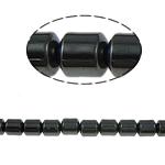 Non-Beads magnetik kuqe e mbylltë, Jo-magnetike kuqe e mbylltë, Kolonë, e zezë, Një, 5x5mm, : 1.5mm, :15.5Inç, 10Fillesat/Shumë,  Shumë