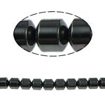 Non-Beads magnetik kuqe e mbylltë, Jo-magnetike kuqe e mbylltë, Kolonë, e zezë, Një, 7x7mm, : 1.5mm, :15.5Inç, 10Fillesat/Shumë,  Shumë