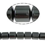 Non-Beads magnetik kuqe e mbylltë, Jo-magnetike kuqe e mbylltë, Kolonë, e zezë, Një, 12x12mm, : 1.5mm, :15.5Inç, 10Fillesat/Shumë,  Shumë