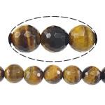 Syri Tiger Beads, Round, asnjë, 14mm, : 1mm, :15.5Inç, 3Fillesat/Shumë,  Shumë