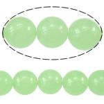 Deti Beads opal, Deti Opal, Round, asnjë, e gjelbër, 12mm, : 1-1.2mm, : 15.5Inç, 10PC/Shumë,  Shumë