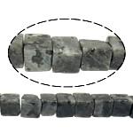 Beads labradorite, Kub, 8x8x8mm, : 1mm, : 15Inç, 10Fillesat/Shumë,  Shumë