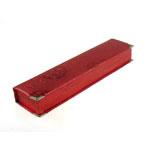 Box karton Gjerdan, Drejtkëndësh, i kuq, 235x55x30mm, 12PC/Qese,  Qese