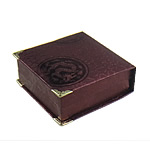 Byzylyk karton Box, Drejtkëndësh, bojë kafe, 95x94x32mm, 12PC/Qese,  Qese