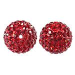 Çekë Beads diamant i rremë, Round, asnjë, me diamant i rremë, Zymbyl, PP13, 14mm, : 2mm, 10PC/Qese,  Qese
