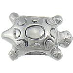 Stainless Steel Beads European, Kafshë, pa karrem, 15x10mm, : 5mm, 20PC/Qese,  Qese