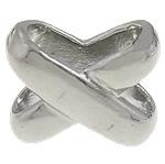 Beads bizhuteri çelik inox, Stainless Steel, Kryq, asnjë, 14x12x7mm, : 4x10mm, 10PC/Qese,  Qese