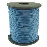 Cord Wax, blu, 1mm, :80Oborr,  PC