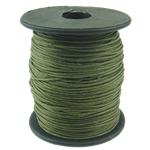 Cord Wax, jeshile të thellë, 1mm, :80Oborr,  PC