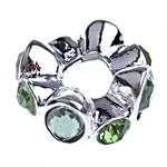Beads European aliazh zink, Alloy zink, Rondelle, pa karrem & me diamant i rremë, , nikel çojë \x26amp; kadmium falas, 15.50x7.50mm, : 5mm, 10PC/Qese,  Qese
