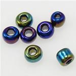 Rainbow Seed Glass Beads, 2x1.90mm, : 1mm,  Qese