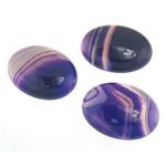 Agat Cabochon, dantella agat, Oval, natyror, shirit, 30x40.50x9mm, 10PC/Qese,  Qese