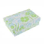Karton Set bizhuteri Box, Drejtkëndësh, 91.50x60.80x30.50mm, 24PC/Qese,  Qese