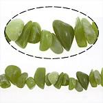 Beads bizhuteri gur i çmuar, Lemon Jade, Nuggets, natyror, 8-19mm, : 0.2-1.5mm, : 16Inç, 10Fillesat/Shumë,  Shumë