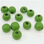 Beads druri, Round, i lyer, e gjelbër, 7x8mm, : 3mm, 2500PC/Qese,  Qese