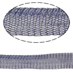 Lace Wire Ribbon, Tunxh, asnjë, asnjë, blu, , nikel çojë \x26amp; kadmium falas, 12mm,  m