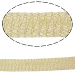 Lace Wire Ribbon, Tunxh, asnjë, asnjë, toka verdhë, , nikel çojë \x26amp; kadmium falas, 12mm,  m