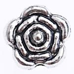 Beads Alloy zink Lule, Ngjyra antike argjendi praruar, asnjë, , nikel çojë \x26amp; kadmium falas, 6x6.50x3.80mm, : 1.2mm, 2500PC/Qese,  Qese