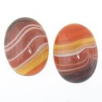 Agat Cabochon, dantella agat, Oval, natyror, shirit, 15x20x6-7mm, 50PC/Qese,  Qese