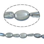Beads Ovale Crystal, 18-25mm, : 1.2-1.5mm, :15.5Inç, 20Fillesat/Shumë,  Shumë