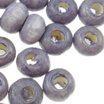 Beads druri, Numërator, i lyer, purpurtë drita, 3x4mm, : 1.8mm, 19230PC/Qese,  Qese