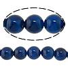 Beads Blue Natyrore agat, Blue agat, natyror, 14mm, : 1.5-2mm, : 15Inç, 5Fillesat/Shumë,  Shumë