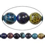 Natyrore kërcitje Beads Zjarri agat, YouTube Fire agat, Round, natyror, faceted, 8mm, : 1mm, : 15Inç, 20Fillesat/Shumë,  Shumë