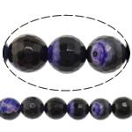 Natyrore kërcitje Beads Zjarri agat, YouTube Fire agat, Round, natyror, 14mm, : 1.5mm, : 15Inç, 10Fillesat/Shumë,  Shumë
