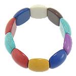Fashion Bracelets Turquoise, Bruz Natyrore, 19.50x21.50x8.80mm, : 8Inç, 30Fillesat/Shumë,  Shumë