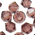 Swarovski Crystal Beads, Bicone, Mid Amethyst, 4mm, : 1mm, 50PC/Qese,  Qese
