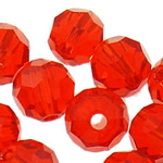 Swarovski Crystal Beads, Round, Zymbyl, 4mm, : 1mm, 50PC/Qese,  Qese