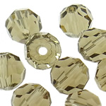 Swarovski Crystal Beads, Round, Greige, 6mm, : 1mm, 50PC/Qese,  Qese